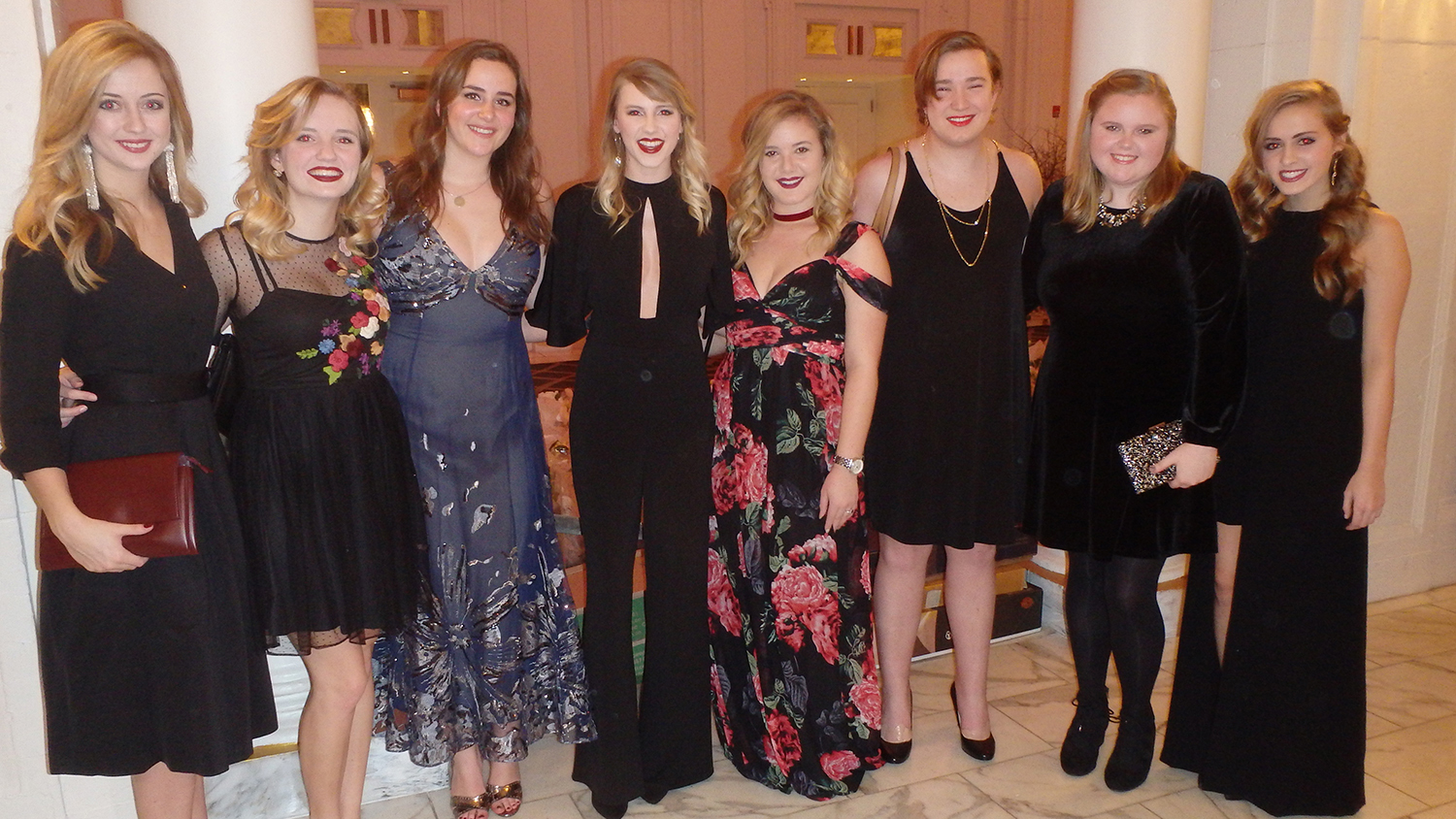 YMA winners at the gala in NYC