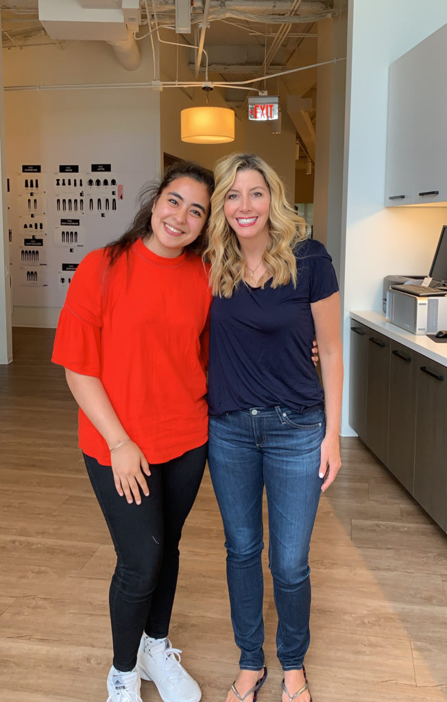Gunnika Ahuja and Sara Blakely at SPANX