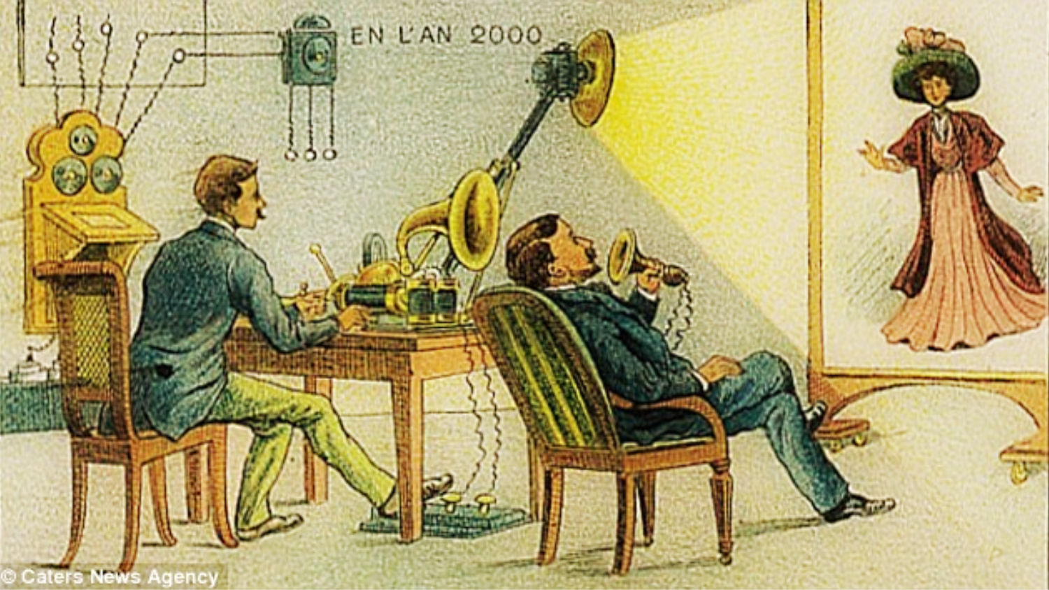 1899 illustration of the year 2000