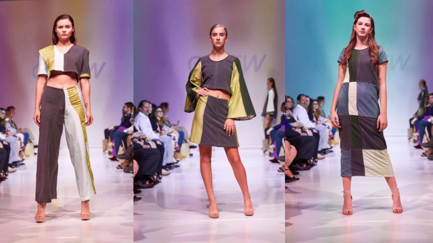 3 Looks from Alexandra Plunkett's collection at GSOFW 2019