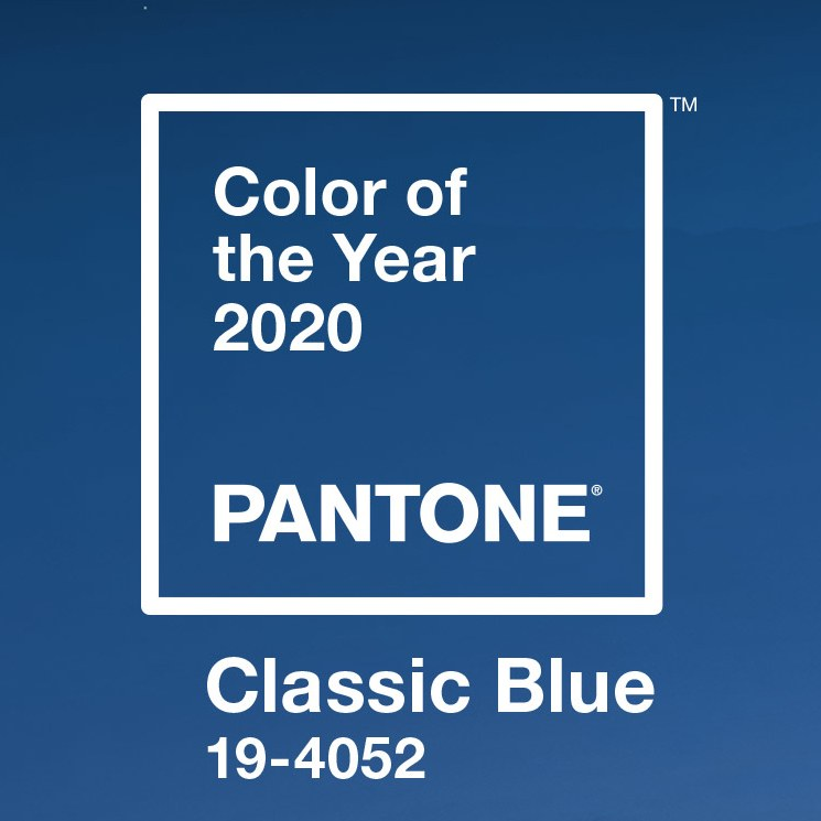 Pantone Color of the Year for 2020 is a deep blue, Classic Blue