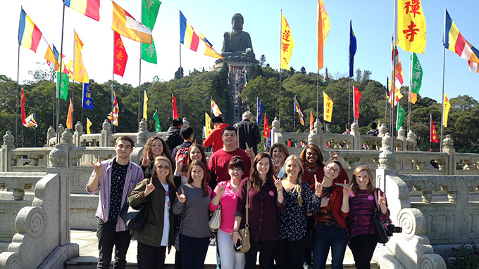 ncsu students visit china