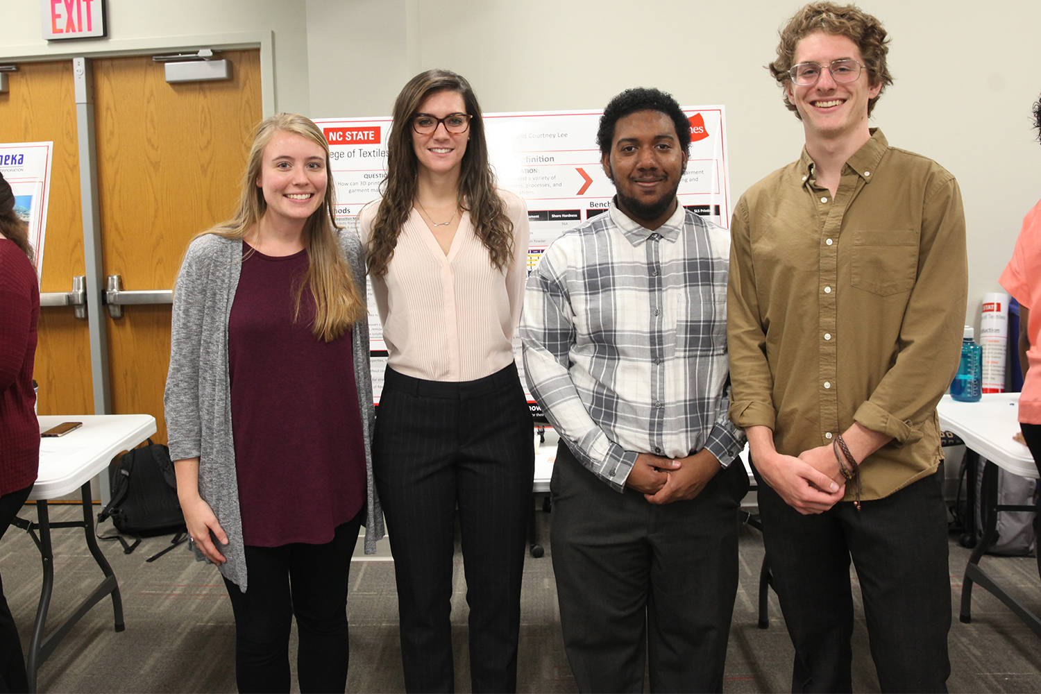 Four Students in the 3D Printing of Garments | Sponsor: Hanesbrands