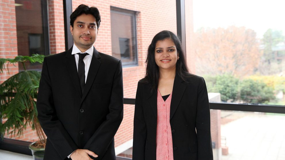 PHD students who won AATCC research funding