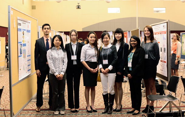 Students at the Graduate Research Symposium