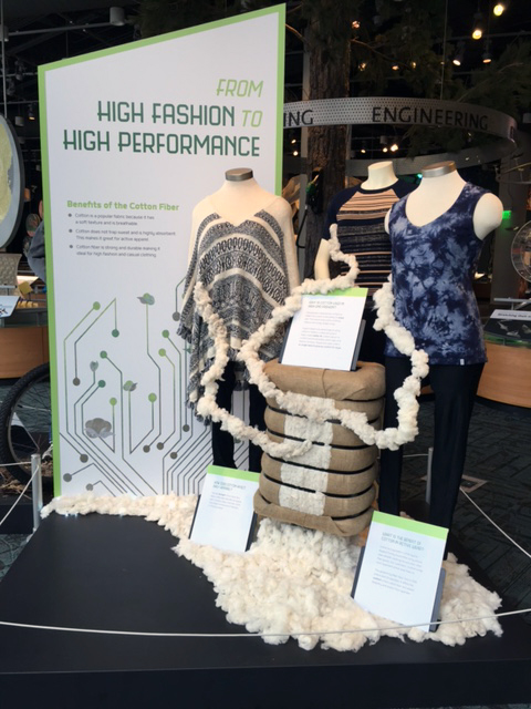 From High Fashion to High Performance Clothing Display