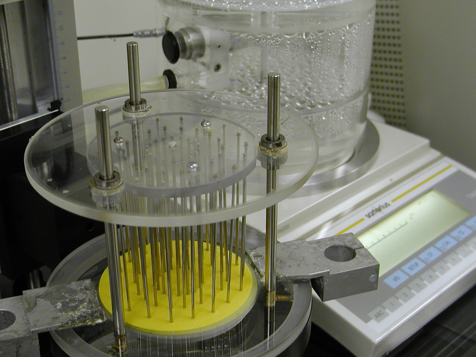 A piece of testing equipment utilized by T-PACC